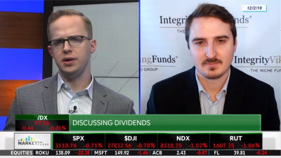 Trey Welstad on TD Ameritrade Discussing Dividends